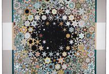 Quilting - SnW - Kaleidoscope - OBW