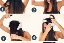 Hair style& make up tips