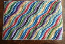 Bargello and needle point
