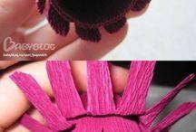 Цветы с конфетой