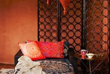 Arabian Nights-inspired bedroom hideaway