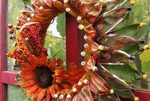 Ribbon Wreaths