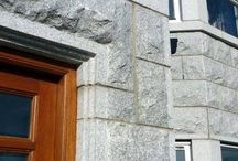 Granite Building Masonry / Houses build with Caledonian Stone Granite Building Masonry, mostly located in Aberdeen and Aberdeenshire in Scotland, UK