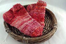 Sofasocken-Kaminsocken / Kuschlig warme Socken aus handgesponnenem Garn