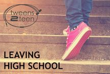 Leaving High School | Tweens2teen / Whether you call it university or college, that step from school to higher learning is a big leap for some kids. Thankfully, there's lots of great ideas out there on what parents and other supporters can do to help teens through it all. young adult - career - university - teenager - parenting