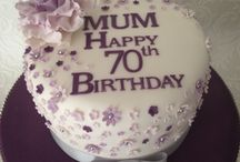 60th cakes