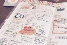 手帳・ノート アイディア