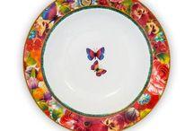 La vaisselle Melli Mello / Vaisselle style boheme romantique tendance gens du voyage