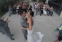 Weddings by GoPro / GoPros allow us to get angles and unique shots that we would not otherwise be able to get.  This board by Tampa Photographer, http://celebrationsoftampabay.com/ showing the different uses of GoPros on a wedding