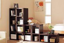 HOME // Bookshelves Divider