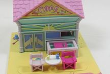 I Don't Collect Things, But When I Do... / Polly Pocket. Vintage. Some I have, some I want...
