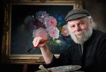 Gary Jenkins, американский художник / Нежные натюрморты для хорошего настроения