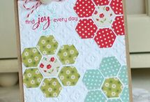Cardzzz...Hexagons / by Cat o phile