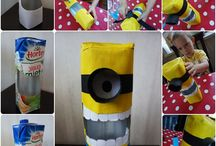 recyklingowo-zabawowo/recycling craft