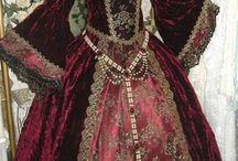nobleza / vestidos de otras epocas