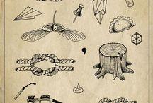 tattoos / by Andrea Moreno