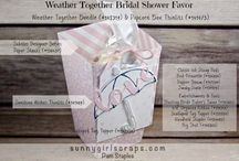 Wedding / Shower Ideas / Various wedding & shower paper craft ideas from Wedding Invitations, Wedding Cards, Favors and Bridal Shower ideas.