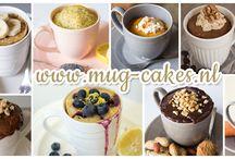 Mugcake recepten / Hier vind je mijn recepten voor overheerlijke mug-cakes, ook wel cake in een mok genoemd. Van zoete tot hartige mug-cakes, je zult ze hier vinden!  Neem een kijkje op www.mug-cakes.nl en leer hoe je heel eenvoudig binnen enkele minuten een mug-cake kan maken in de magnetron!