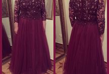 Customer Elen's dress