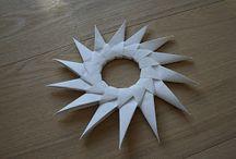 Pappersstjärna / Origami
