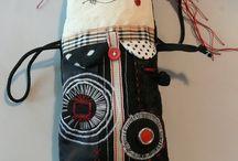 textile dolls / handmade dolls