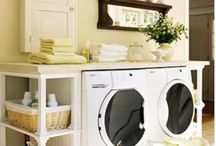 Laundry room / by Michelle Hambly