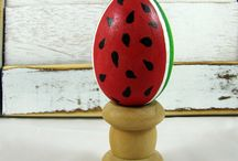Woodland Home / A motley collection of folk art, woodland, primitive old world inspired home decor pieces.