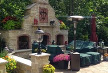 Fire Pits, Fire Places, Grills, Outdoor Kitchens & Pizza Ovens / Precision Corporation can transform your outdoor living space into something truly functional and amazing!