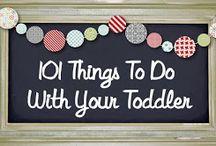 Kid/Toddler Activities