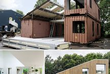 Upcycled Container House Ideas