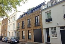 New Build House / This is a 500m2 (5,400ft2) new-build house that involved complete demolition of two terraced houses within an early Victorian terrace within a Conservation Area.