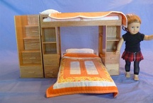 AG -18 inch doll house, furniture, decor / by Margaret Johnson
