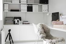 • HOME INSPIRATION | Office . Guest room