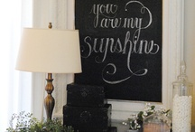 chalk board paint items / by M. Lorena Bowles