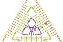 triangulo crochet