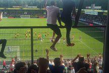 Ajax Amsterdam / Ajax Amsterdam is een voetbalclub en speelt zijn thuiswedstrijden in de Johan Cruijff Arena in Amsterdam Zuid-Oost