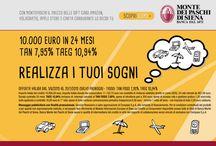 Realizza i tuoi sogni / campagna MPS, Monte dei Paschi di Siena powered by madai