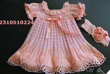 Βαπτιστικά ρούχα χειροποίητα / Στο κατάστημά μας μπορείτε να αγοράσετε το πλεκτα ρουχα χειροποίητα από MADAME TRICOTE,δαιχομασται παραγγελιες