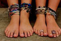 Beach Bracelets <3 / Inspiration for bracelets that match with your bikini!