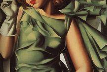 Tamara De Lempicka / Art deco