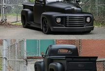 Blacked out trucks