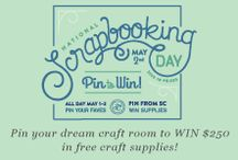 Studio Calico's Pin Your Dream Craft Room Competition / Dream craft rooms.