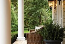 *Outdoor Oasis* / Beautiful pools, porches and patios. Let's relax and enjoy warm, breezy days. / by *Melissa Miller*