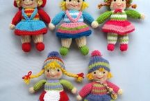 Dolly mixtures / Knitted dolls