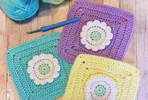 wildflower granny squares