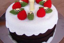 dulces y frutas amigurumi