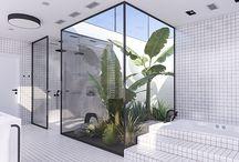 Koupelny - inspirace