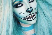 Cosplays, makeups