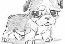 kutyuka rajzok