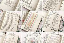 BULLET JOURNAL/PLANNER INSPIRATION / Whether you love you bujo, or are obsessed with the classical calendar, here you find inspiration for both! More printables for calendar is found on my 'Printables' board!
